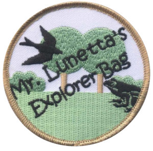 Explorer Bag patch. Photo: SMRA/Anne Swaim