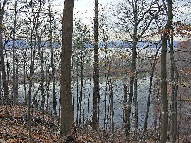 View of Hudson River from Graff Sanctuary