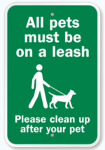 All dogs must be leashed in our sanctuaries. Why? Unleashed dogs reduce habitat quality: birds and other wildlife will leave an area where dogs are off leash.