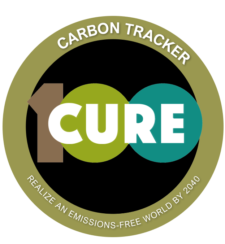 We have licensed the CURE100 carbon tracking app for use by our website visitors. Click above to learn more and try it out.